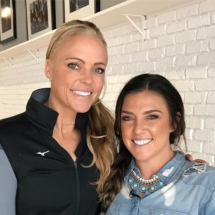 Jennie Finch and Delanie Gourley Talk Dancing with the Stars Athletes!