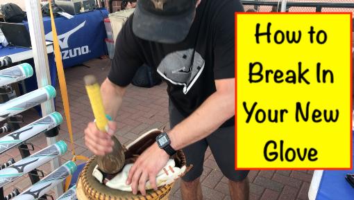 How to break-in your newglove